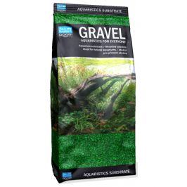 Písek aqua excellent zelený 1,6-2,2mm 1kg