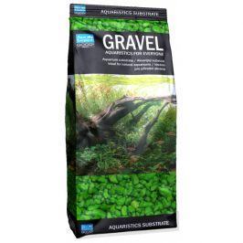 Písek aqua excellent svítivě zelená 3-6mm 1kg