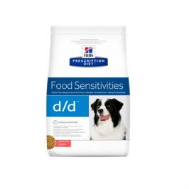 Hill´s prescription diet canine d/d salmon & rice 12kg