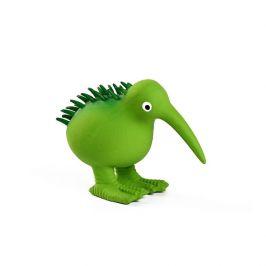 Hračka kiwi walker latex kiwi pískací zelená 11,5cm