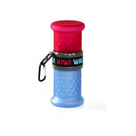 Cestovní láhev 2v1 kiwi walker růžová/modrá 500+750ml