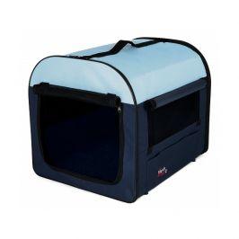 Mobile kennel trixie 40x40x55cm modrá/světle modrá