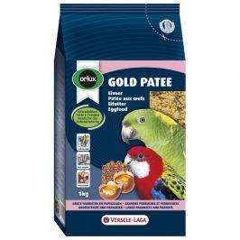 Krmivo vaječné gold patee pro střední a velké papoušky 1kg