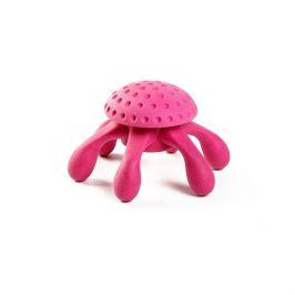 Hračka Kiwi Walker TPR guma chobotnice růžová 12cm