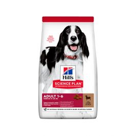 Hill´s science plan canine adult medium lamb & rice 14kg