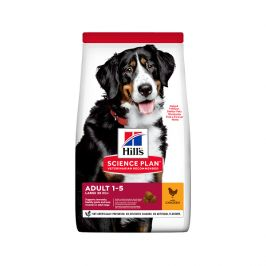 Hill´s science plan canine adult large breed chicken 14kg