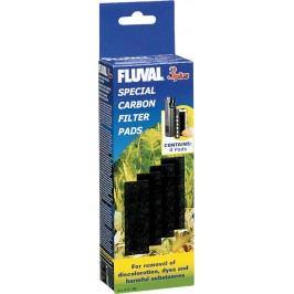 Náplň vata uhlíková FLUVAL 3 Plus 4ks