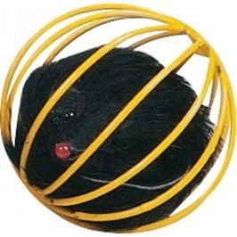 Hračka FLAMINGO míček kovový s myší