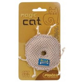 Hračka MAGIC CAT natural kolečko catnip