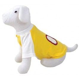 Triko DOG FANTASY sport 08 žluté S/M