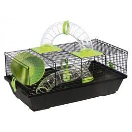 Klec SMALL ANIMAL Libor černá se zelenou výbavou