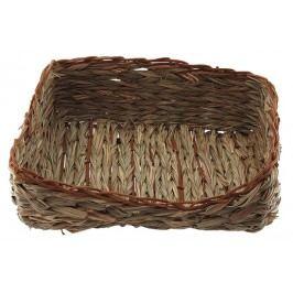 Hnízdo SMALL ANIMAL Ošatka travní pletené 26 x 20 x 10 cm