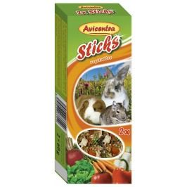 Tyčinky AVICENTRA zeleninové pro velké hlodavce 2ks