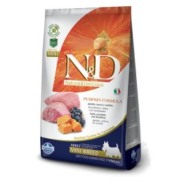 N&d pumpkin dog adult lamb & blueberry mini 2,5kg