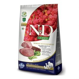 N&d quinoa dog weight management lamb & broccoli 2,5kg