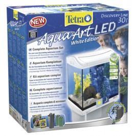 Akvárium set TETRA AquaArt LED bílý 30l