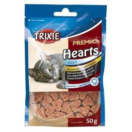 Pamlsek pro kočky Trixie srdíčka 50g
