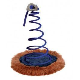 Hračka pro kočky Trixie myš na pružině 20*25cm
