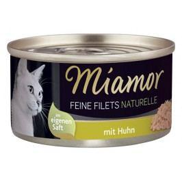 Konzerva MIAMOR Feine Filets Naturelle kuře ve šťávě 80g