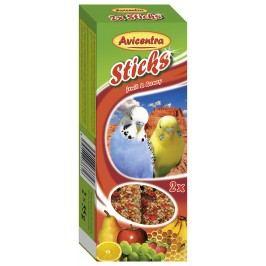 Tyčinky avicentra ovocné pro andulky 2ks