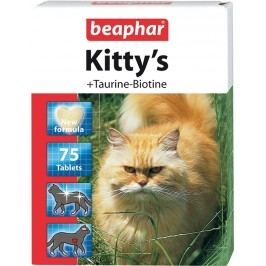 Beaphar Pochoutka Kitty´s taurin+biotin 75tbl