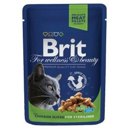 BRIT Premium Cat Chicken Slices 100g