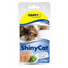Gimpet Konzerva SHINY CAT tunak 2x70g
