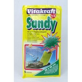 Podložka VITAKRAFT Sandy 46 x 26 cm 6ks