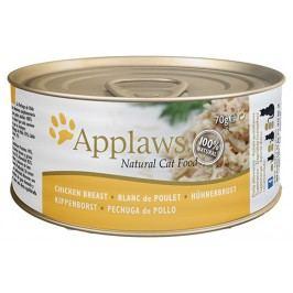 Konzerva Applaws Cat kuřecí prsa 70g