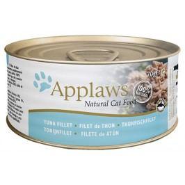 Konzerva Applaws Cat tuňák & sýr 70g