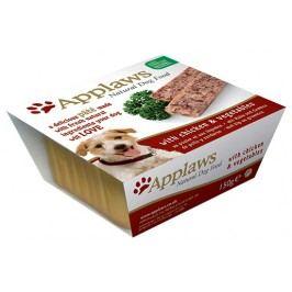 Paštika Applaws Dog kuře & zelenina 150g