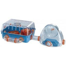 Ferplast Box Combi 2 s tělocvičnou pro křečky 79,5x29,5x26,3cm