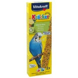 Tyčinky Vitakraft Kracker kiwi a citrus 2ks