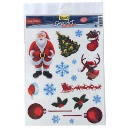 Dekorace TETRA DecoArt samolepky Vánoce