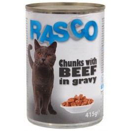 Konzerva Rasco hovězí kousky ve šťávě 415g