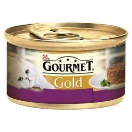 GOURMET Gold Savoury Cake KK 24*85g S jehněčím a zelenými fazolkami