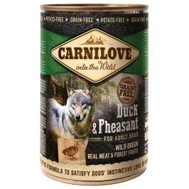 Konzerva Carnilove Wild Meat Duck & Pheasant 400g