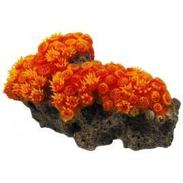 Aqua Excellent Dekorace akv.Mořský Korál oranžový 16x9,5x7cm