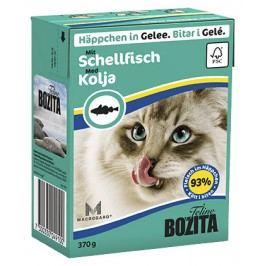 Kousky v želé BOZITA Cat s treskou - Tetra Pak