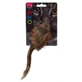 Hračka Magic Cat myš plyšová Gigant s catnip 21cm