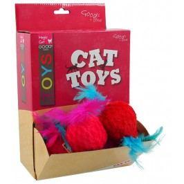 Hračka Magic Cat myška plyš s catnip 8cm