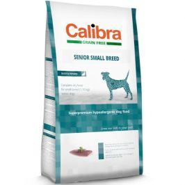 Calibra Grain Free Senior Small Breed Duck 7kg