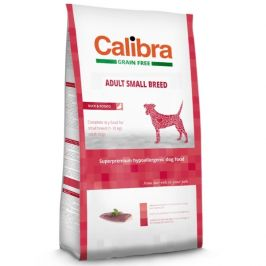 Calibra Grain Free Adult Small Breed Duck 7kg
