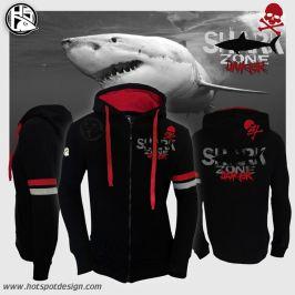 Hotspot Design Mikina Shark Zone