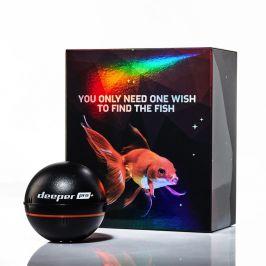 Deeper Pro+ Fishfinder nahazovací sonar - verze WiFi s GPS Vánoční edice 2020