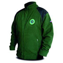 Chyť a pusť Bunda Fleece zelená Hi-Q