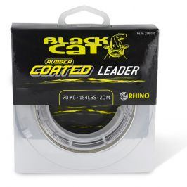 Black Cat Šňůra Rubber Coated Leader 20m