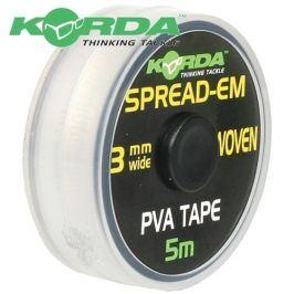 Korda PVA páska Spread-Em PVA Tape 3mm 5m