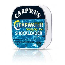 Carp ´R´ Us Fluorocarbon Clearwater Shockleader 50lb 20m