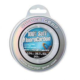 Savage Gear Fluorocarbon Soft Fluoro Carbon 50m